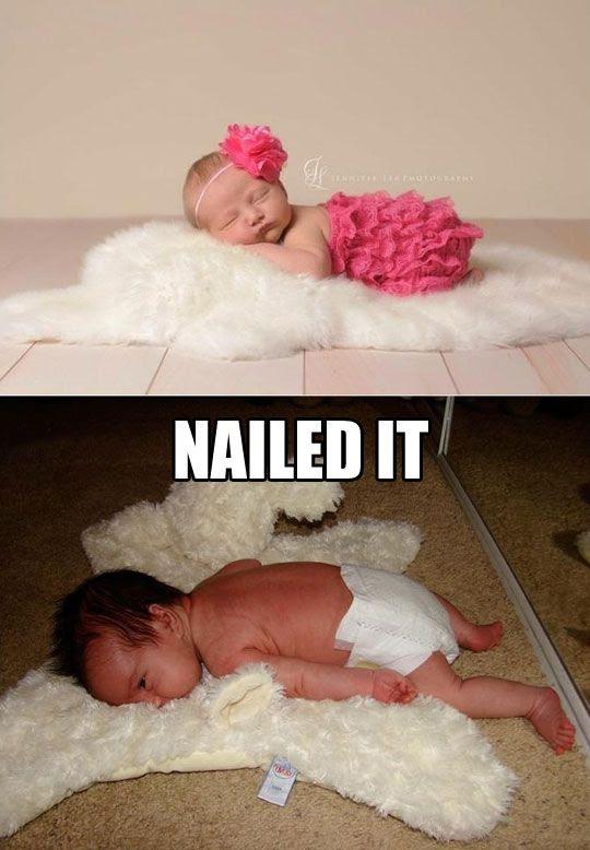 baby photography, newborn photography, newborn photography fail, pinterest fail