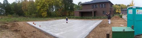 Die Bodenplatte