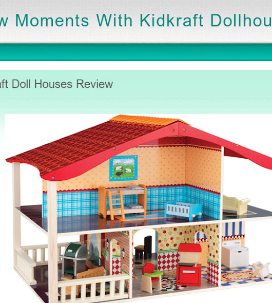 Few Moments With Kidkraft Dollhouse - Home