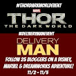 My Crazy Itinerary for THOR: THE DARK WORLD and DELIVERY MAN #DeliveryManMovie #ThorDarkWorld - Trippin With Tara