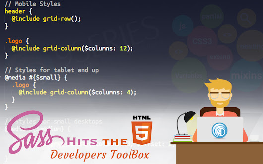 SASS Hits the HTML5 Developers ToolBox