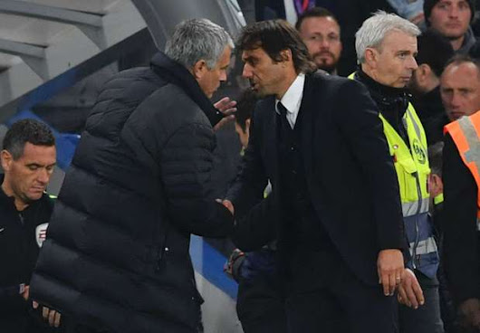 Conte responds to Mourinho outburst: I only encouraged crowd as Chelsea deserved it - Goal.com