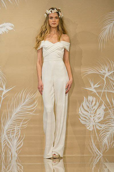 gorgeous pantsuits  jumpsuits  brides crepes