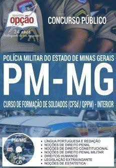 Apostila PM-MG - CFSd - Curso de Formação de Soldados