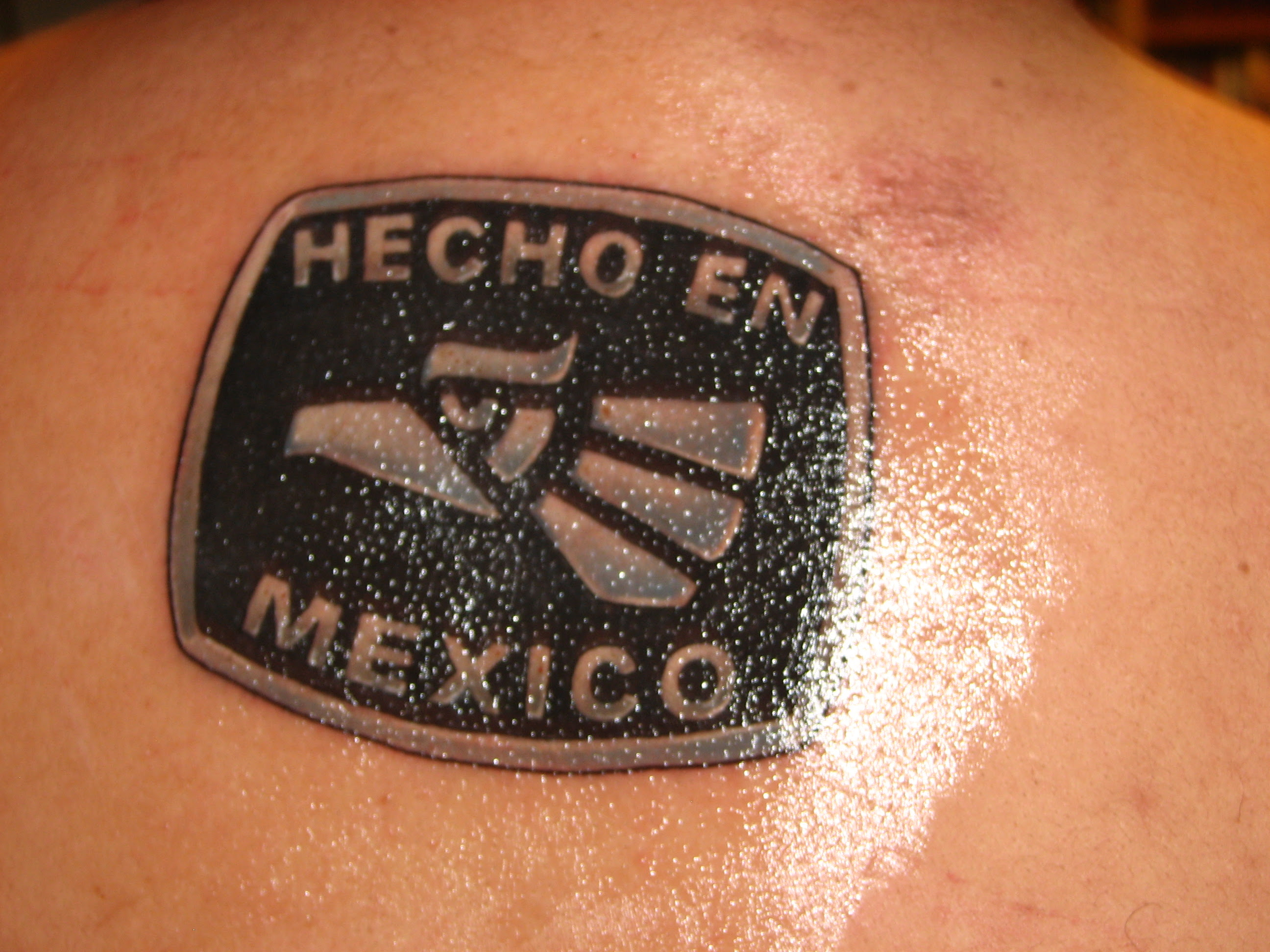 Hecho En Mexico Tattoo Picture