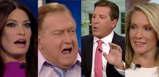 Fun! Bob Beckel Slaps Around Eric Bolling On Trump Wiretapping Accusation