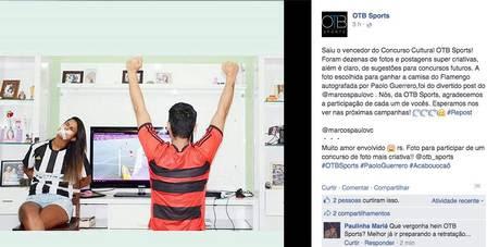 """No anúncio da foto vencedora, post foi considerado """"divertido"""" pela empresa"""