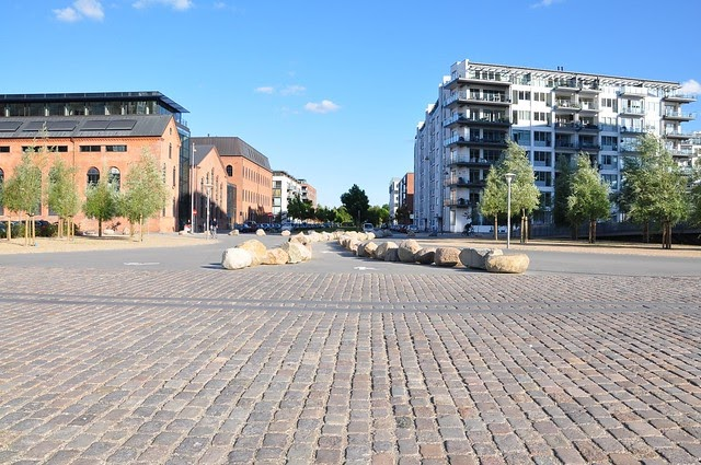 """Islands Brygge - Application of the """"Desire lines"""""""