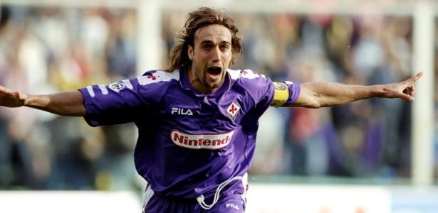 Gabriel Bastituta, quando atuava pela Fiorentina