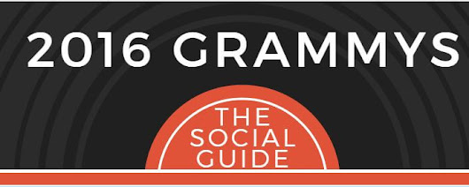A Social Guide to the 2016 Grammys by Overdrive Interactive