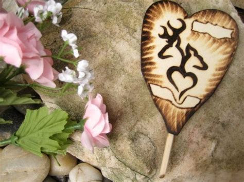 Buck and Doe Cake Topper, Camouflage Wedding, Country