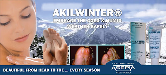 ❄ Akilwinter - A Protective | Soothing | Strengthening Formula for face, hands and feet ✋