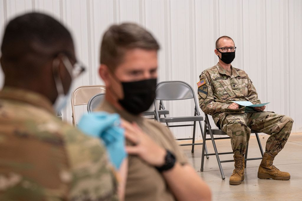 US Army mandates active duty soldiers must be vaccinated by December