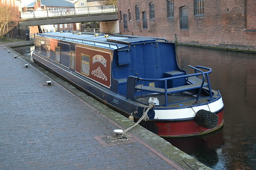 Archimedes @Old Turn Jn, Birmingham & Fazeley Canal