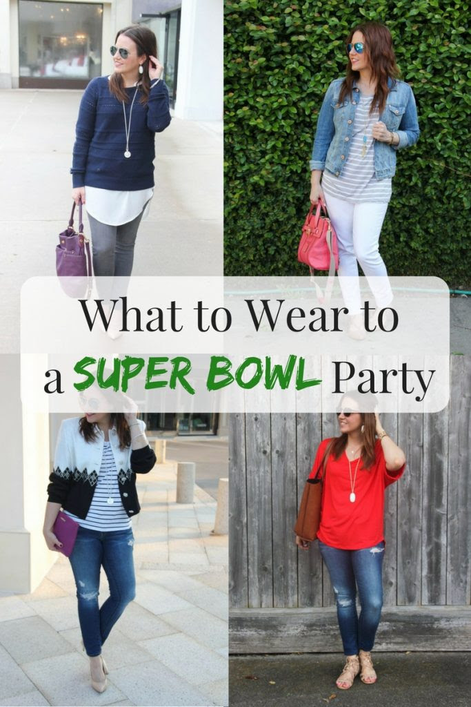 12 Super Bowl Party Outfit Ideas Lady In Violet Houston Fashion