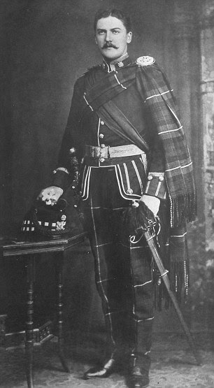 Henry Frederick Leicester Locock in his army uniform