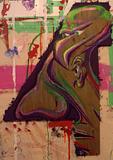 BingoRage Studio. Broken Vulture Art. Eagle/Human Transformation