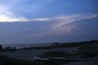 storm clouds rolling in late day - click to enlarge