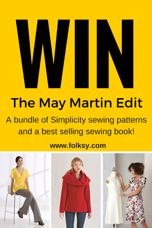 Win a Bundle of Simplicity Sewing Patterns and Sewing Book -