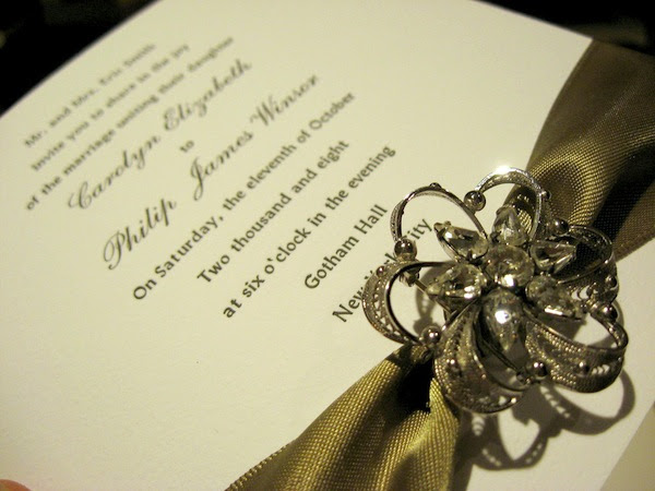 Your wedding invite is no doubt one of the most important pieces in your