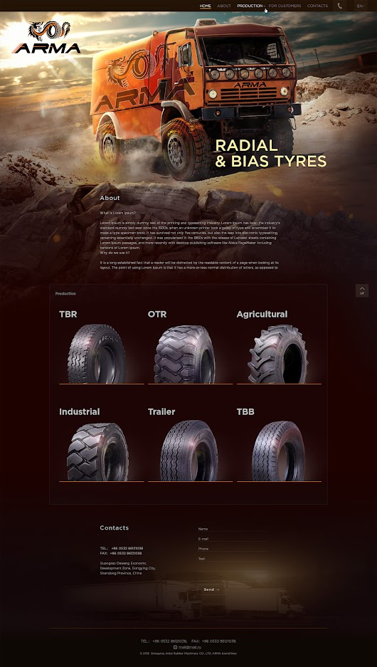 ARMA - radial and bias tyres