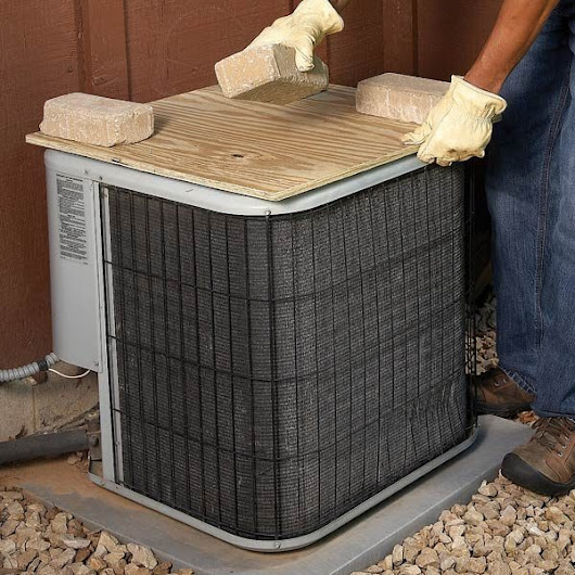 Covering Your Air Conditioner Condenser Unit | The Family Handyman