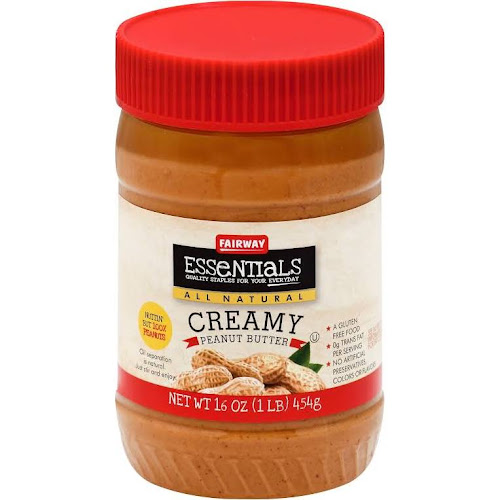 Fairway Essentials Peanut Butter, Creamy - 16 oz