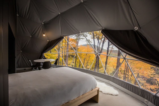 DISCOVER 'DÔMES CHARLEVOIX', A NEW CONCEPT OF FOUR SEASONS ECO LUXURIOUS ACCOMMODATIONS LOCATED NEAR QUEBEC CITY - Arc Street Journal / inteligent & elegant culture from everywhere and for everybody.