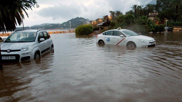 La gota fría en el sudeste de la península provoca inundaciones y alerta en diez provincias