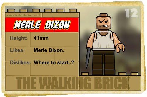 Slightly Inappropriate Lego #12 : Merle Dixon