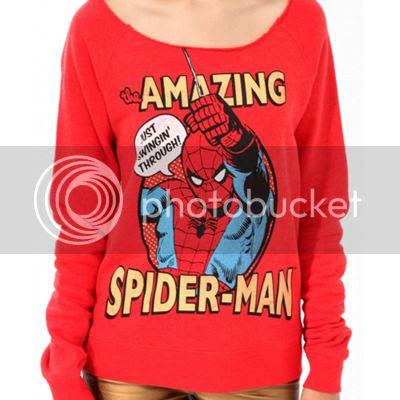 Spider-Man pullover