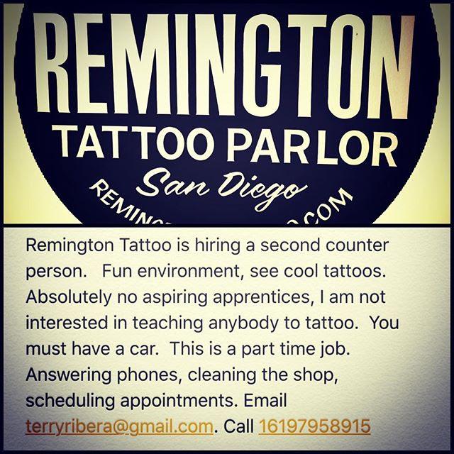 Tattoo Shops Jobs Near Me