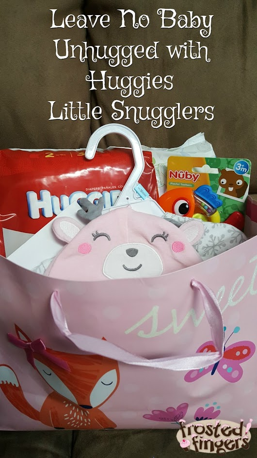 Gifts ideas for new baby with Huggies Little Snugglers