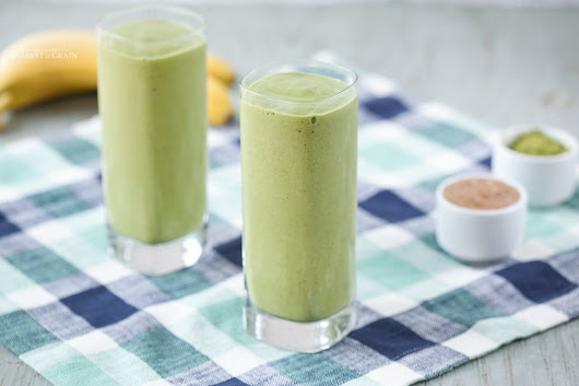 Matcha Smoothie Recipe | Against All Grain - Delectable paleo recipes to eat & feel great