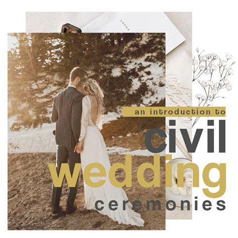 An Introduction To Civil Wedding Ceremonies   CHELSHEAFLO