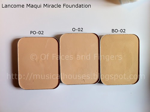 lancome maqui miracle foundation 2