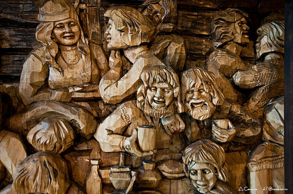 As incríveis pinturas esculpidas de Kronid Gogolev 31