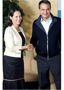 Ségolène/Zapatero