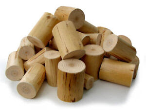 Decorative Display Wood Logs, clean, neat, peeled for Interior ...