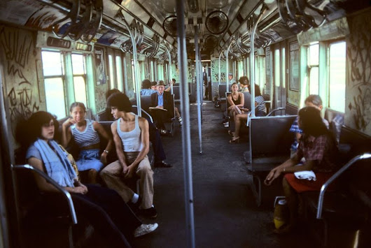 Rare Photos Of NYC Underground In The 70's And 80's