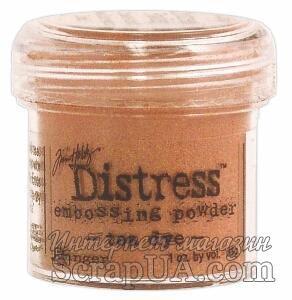 Пудра для эмбоcсинга Ranger - Distress Tea Dye - ScrapUA.com