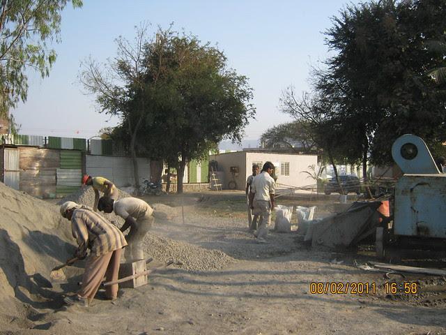 Vastushodh's Urbangram - 2 BHK Flat for Rs. 20 Lakhs - at Kondhawe Dhawade - Pune 411 023 - Construction Begins! - desired concrete grade