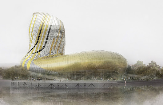 BORDEAUX'S $81 MILLION CITÉ DU VIN: WINE MUSEUM