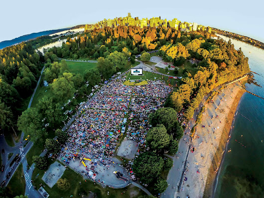 Evo Summer Cinema Series | Stanley Park Vancouver | July 5th – August 23rd