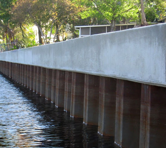 How to Know if it's Time to Replace Your Steel Seawall