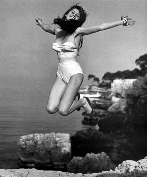 halsman BBardot2 Les sauts de Philippe Halsman  photo photographie featured art