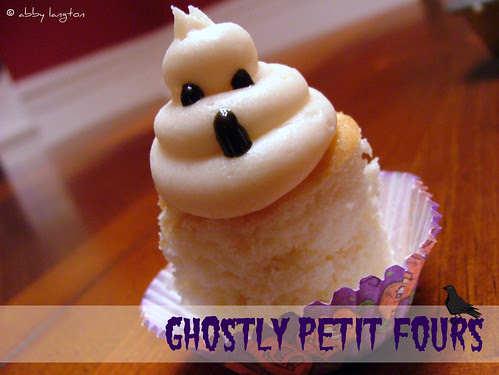 Ghostly Petit Fours