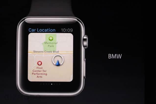 Apple Watch : elle peut aussi retrouver votre BMW