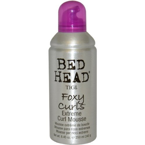 tigi bed head mousse pour cheveux boucl s foxy curl 250ml produits coiffant. Black Bedroom Furniture Sets. Home Design Ideas