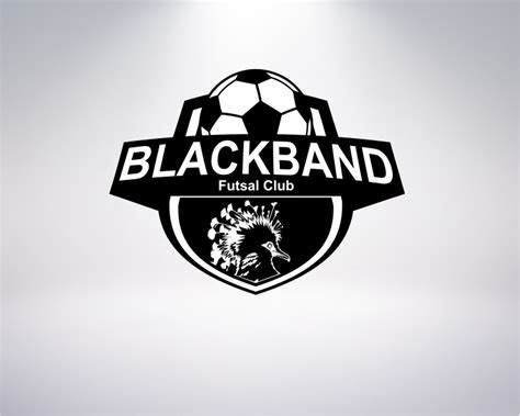 galeri logo design  club futsal blackband fc